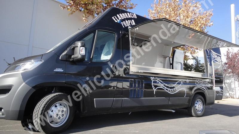 Food Truck Restaurante-Barbacoa