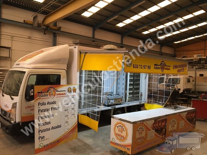 Vehículos Tienda Foodtruck Fabricación De Carrocerías